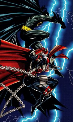 Batman & Spawn by Todd McFarlane