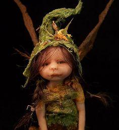 Willa OOAK Fairy Snail Sculpture by Amy Lynn Fairies Iadr Adsg | eBay