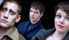 "Being Human: Thomas McNair (Michael Socha), Harry ""Hal"" Yorke (Damien Molony), Alex Mayhew (Kate Bracken)"
