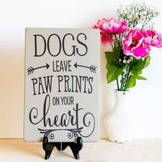 Cute sign for Pet Parents of Doggies :-) www.etsy.com/...