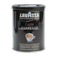 LavAzza Caffe Espresso [pre-ground, 8 oz. can]
