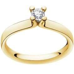 MAGIC ring - 18 kt. yellow gold with brilliants