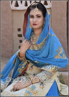This colour is fabulous! New Punjabi Suit, Designer Punjabi Suits Patiala, Punjabi Dress, Indian Designer Suits, Indian Suits, Punjabi Fashion, India Fashion, Indian Look, Indian Wear