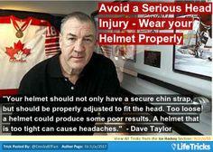 Ice Hockey - Avoid a Serious Head Injury – Wear your Helmet Properly