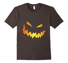 Halloween Scary Face Pumpkin Tee T-Shirt Tshirt Scary Pumpkin Faces, Scary Faces, Scary Halloween, Halloween Pumpkins, Jack O Lantern Faces, Branded T Shirts, Superhero Logos, Nice Tops, Cool T Shirts