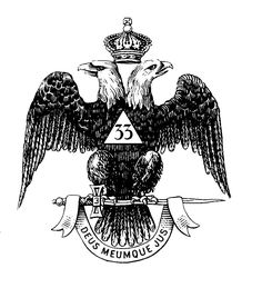 33rd Degree Eagle, I was so fortunate to receive my 33rd Degree in 2006