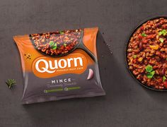 Quorn Makes Meat-Free Look So Good — The Dieline | Packaging & Branding Design & Innovation News