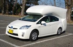 This Funky Camper Conversion Turns Your Toyota Prius into a Home on Wheels | Inhabitat - Sustainable Design Innovation, Eco Architecture, Green Building
