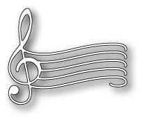 [1196] DIES- Elegant Musical Staff