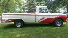 65 ford f 100 1/2 ton 8 ft bed, long bed, 2 wheel drive, 352 v8 engine, auto…
