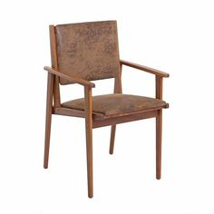 Cadeira Kell - Cadeira Kell, estrutura em madeira cumaru maciça, com revestimento em tecido, couro natural, ou couro ecológico. Fabricação Desmobilia.