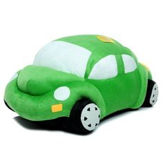 Lovely Beetle car model Decoration pillow cushions plush toys Christmas giftgreen65cm -- Check this awesome product by going to the link at the image.