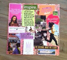 Y W activity idea- create a Vision Board and talk . Y W activity idea- create a Vision Board and talk about setting goals – easy and fun, a good way to get to know eachother Mutual Activities, Young Women Activities, Art Therapy Activities, Class Activities, Church Activities, Children Activities, Play Therapy, Summer Activities, Speech Therapy