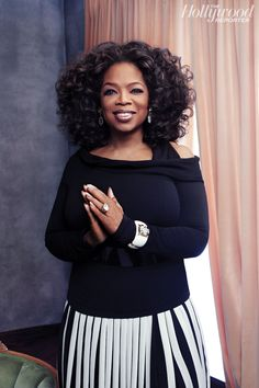 Oprah Winfrey by Joe Pugliese for The Hollywood Reporter December 2013