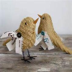 burlap bird image - - Yahoo Image Search Results