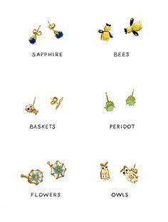 a few of my favorite earrings, by danielle kroll