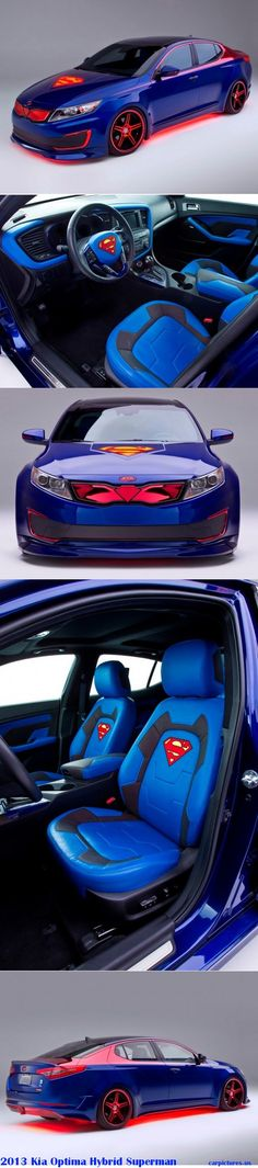 2013 Kia Optima Hybrid Superman car... Can I haz?