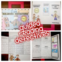 Ready to have some FUN during Guided Reading Groups? If so, check this out and your kiddos will become Super Sleuth Reading Detectives!
