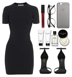 """Untitled #6"" by xauroraxx on Polyvore featuring T By Alexander Wang, Yves Saint Laurent, Bobbi Brown Cosmetics, Native Union and Smashbox"