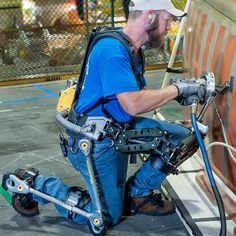 This is a FORTIS exoskeleton. - Imgur