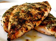 herb grilled chicken