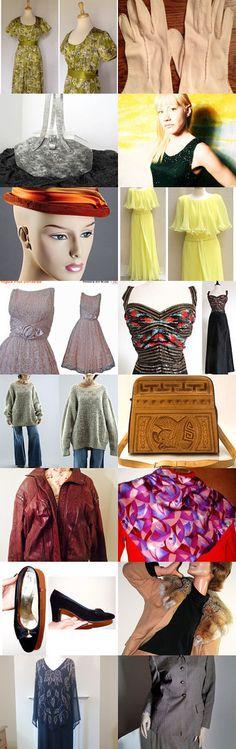 Vintage Fashion Team Love Daily Treasury by Tracy B on Etsy--Pinned+with+TreasuryPin.com
