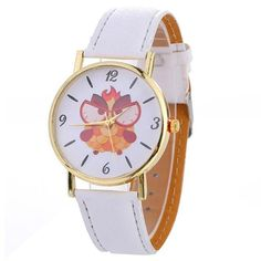 Women Wind Animal Pattern Quartz Watch Leather Strap Belt Table Watch Feature: brand new and high quality . Geek Watches, Table Watch, Beautiful Watches, Quartz Watch, Fashion Watches, Geek Stuff, Clock, Pattern, Animals