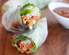 5 Gorgeous (and Healthy!) Spring Rolls You Can Totally Make  http://www.womenshealthmag.com/nutrition/spring-roll-recipes