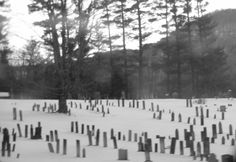 A graveyard I passed when driving through some backroads in NH.