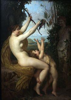 Jules Lefebvre - Nymphe et Bacchus