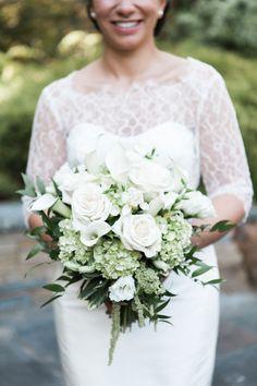 Floral Design: Haworth's Flowers - http://www.stylemepretty.com/portfolio/haworths-flowers Photography: Brigham & Co. - www.brighamandco.com/   Read More on SMP: http://www.stylemepretty.com/connecticut-weddings/west-hartford/2016/11/11//