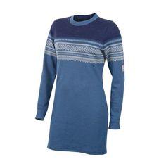 De Marius Tunic Woman är en lite längre tröja för damer, tillverkad i ull.