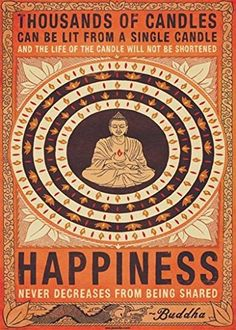 Thousands of Candles Happiness Buddha Giant Giant Poster ...