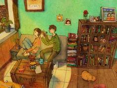 Korean Artist Illustrates What True Love Looks Like