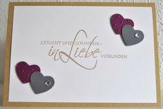 Hochzeitseinladung Herzchen von Paperdesign-4you auf DaWanda.com