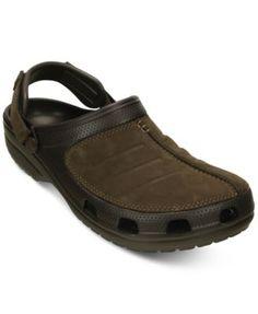 a3a55dda Crocs Men's Yukon Mesa Clogs Crocs Men, Mens Travel, Leather Clogs, Clogs  Shoes