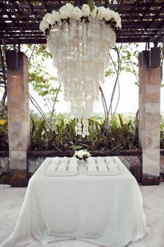 Escort card table in Bali / by Lisa Vorce, Mindy Rice & Aaron Delesie