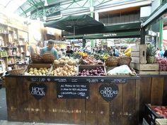 Borough Market stall - London
