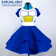 Vegeta Cosplay Pinafore Dress Accessory by DarlingArmy on DeviantArt