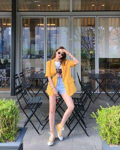 Fashion Tips Hijab .Fashion Tips Hijab Korean Girl Fashion, Korean Fashion Trends, Korean Street Fashion, Korea Fashion, Look Fashion, Asian Fashion, Ulzzang Fashion Summer, Korean Fashion Summer, Korean Fashion Casual