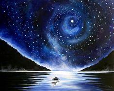 night sky | how I paint