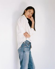 Wednesday's classic look from Caron Callahan and Citizens of Humanity #caroncallahan #citizensofhumanity #denim #thedreslyn