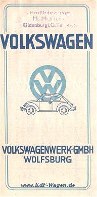 VW - 1948 - Volkswagen - [1301]-1