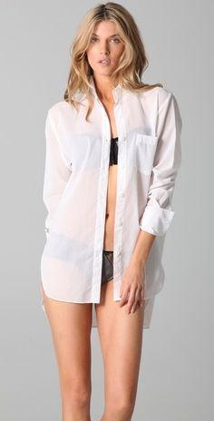 Kiki De Montparnasse Boyfriend Shirt - StyleSays