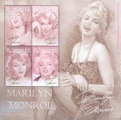 В 2004 году Почтовая служба Ст. Винсент и Гренадины выпустила серию марок, посвященную Мэрилин Монро.