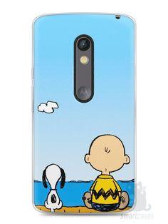 Capa Capinha Moto X Play Snoopy #12 - SmartCases - Acessórios para celulares e tablets :)
