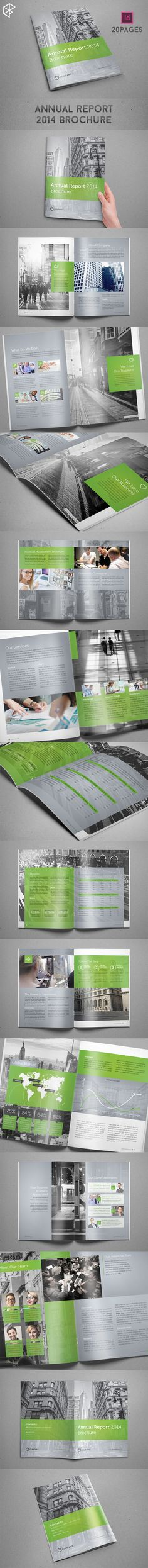 Annual Report 2014 Brochure on Behance