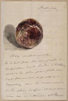 """Édouard Manet (1832-1883) - """"Bellevue, à Isabelle Lemonnier"""" - Aquarelle, encre grise, plume (dessin) - http://www.photo.rmn.fr/C.aspx?VP3=SearchResult&VBID=2CO5PC7WYJZVC&SMLS=1&RW=1366&RH=659#/SearchResult&VBID=2CO5PC7WYJZVC&SMLS=1&RW=1366&RH=659&PN=1"""