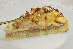 Apfelkuchen mit Walnusscreme 1