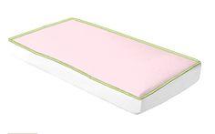 Doodlefish Ivy League Pink Corded Bumperless Crib Sheet #tinytotties #doodlefish